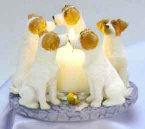 Circle of Jack Russell Terriers, Parson Russell candleholder Oakville / Halton Region Toronto (GTA) image 3