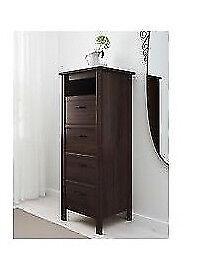 IKEA Brusali brown drawers x 2