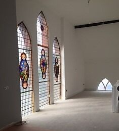brand new 2 bed apt in converted church on high st, connahs quay, CH5, high spec close to amenities