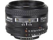 Nikon 50mm 1 4D