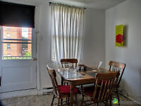 Large 3 1/2 apartment in St Henri