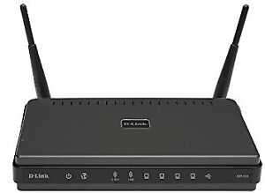 D-Link Wireless RangeBooster N Dual Band Router with 4-Port