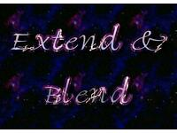 Extend and Blend Hair Extensions and Hair dressing