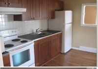 Superb location - Renovated 1 bedroom suite.  $895/month