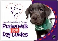 ****Looking for sponsors for the purina walk for dog guides!**