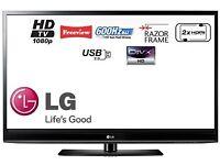 """LG 50"""" plasma full hd 1080p tv"""