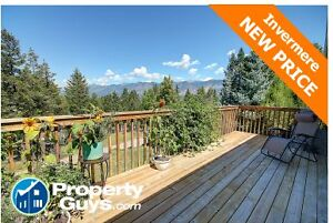 NEW PRICE! - Invermere  Home for Sale