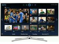 """Samsung 48"""" LED smart 3d wi-fi TV builtin freeview fullhd 1080p comes"""