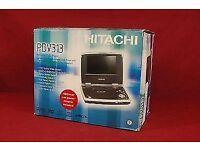 Hitachi Portable DVD/CD Player