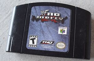 Looking for WWF NO MERCY on Nintendo 64