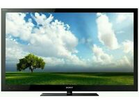 """Sony bravia 40"""" LCD tv full hd 1080p built in freeview tv is in mint condition fully working ."""