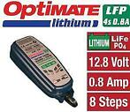 Optimate Lithium Acculader LFP LiFePO4 0,8A
