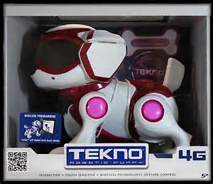 "Tekno Puppy in Blue or Red ""Super Toy Brand New"""
