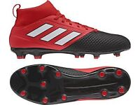adidas Ace 17.3 Primemesh SG Football Boots UK 8.5 Red/Black
