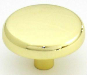 22 Brand New Brainerd Polished Brass Gold Cabinet Knob
