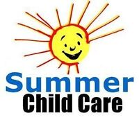 Wanted - Summer Child Care