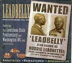cd box - Leadbelly - Important Recordings 1934 - 1949