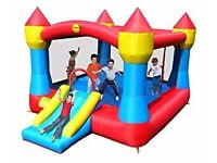 Large Childrens Super Bouncy Castle with Slide - never used, still in box