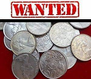 Wanted: COINS, BANKNOTES, MEDALS, TOKENS, MILITARIA, BADGES ETC Adelaide CBD Adelaide City Preview