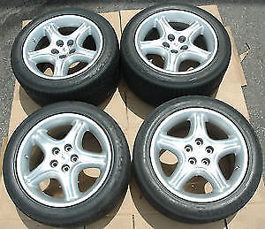Choverlate WINTER - 235-45-17 Rims/Tires (4) Mint Condition