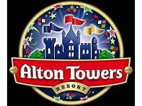 Alton towers tickets