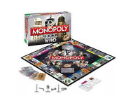 Doctor Who Monopoly Board Game 50th Anniversary limited edition