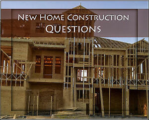 New Home Construction Specialist- ASK ME QUESTIONS