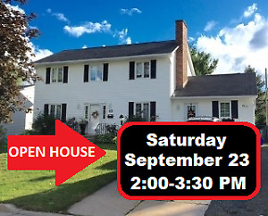OPEN HOUSE! With Large deck,Swimming pool, 2 Sheds