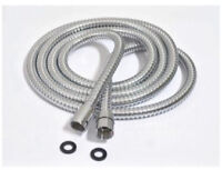 Extra Long All Stainless Steel Shower Hose. Professional Grade