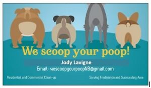 We scoop your poop... If you have a dog, than you have Poop!