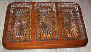 Glass Platters, Divided & Relish Dishes London Ontario image 4