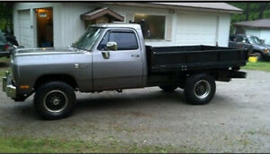 Wanted dodge W250 or cummins 2500 1980 to 2003