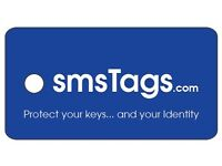 smsTags Keyring fob. Receive a text if you lose your keys