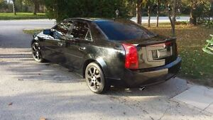 2007 Cadillac CTS 3.6ltr BLack on Black 6 Speed