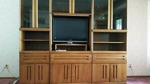 3 piece wall unit-TV included