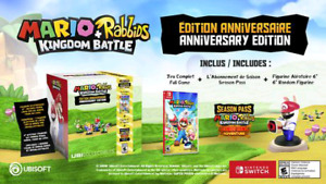 Mario + Rabbids Kingdom Battle Anniversary édition exclusive de