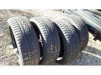 Winter Tyres set of 4, Yokohama W-drive 215/55/18 (Nissan Qashqai) Price Reduced for quick sale