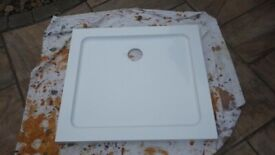 White Rectangle Square Shower Tray
