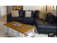 Leather Sofa! Good condition