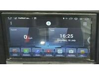2 double din Head unit dvd gps Sat Nav Quad Core Android 4.4.4 car stereo