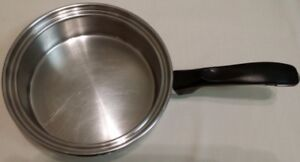 Stainless Steel Shallow Sauteing pot or Saucepan Cook-o-Matic