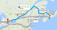 Rideshare from Halifax to Toronto on June 8