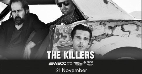 The Killers, Aberdeen, 1x ticket