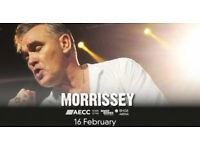 2 x Tickets to MORRISSEY in Aberdeen TONIGHT -16th February 2018