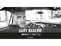 Pair of GARY BARLOW tickets for SALE, Fantastic Seat Location - 21st APRIL 2018 Aberdeen AECC