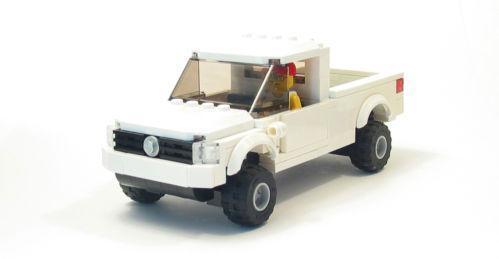 lego custom truck ebay. Black Bedroom Furniture Sets. Home Design Ideas