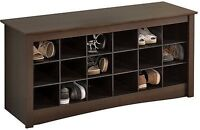 Entryway Shoes Storage Organizer Shelves/ Bench