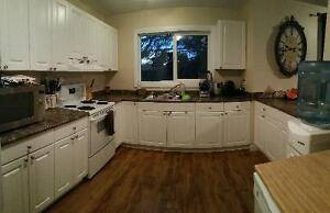 3 bedroom 1.5 bath apt for Aug 1