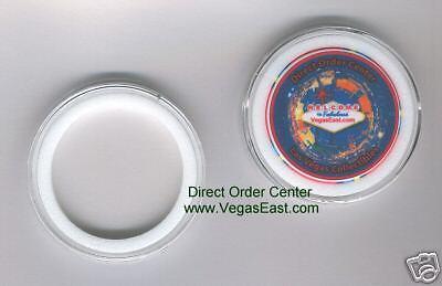 Casino Poker Chip Storage Airtite Holder Air Tite 39mm