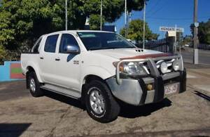 06 Toyota Hilux SR5 dual cab KUN26R t/ diesel 4X4 120K $25,999 Highgate Hill Brisbane South West Preview